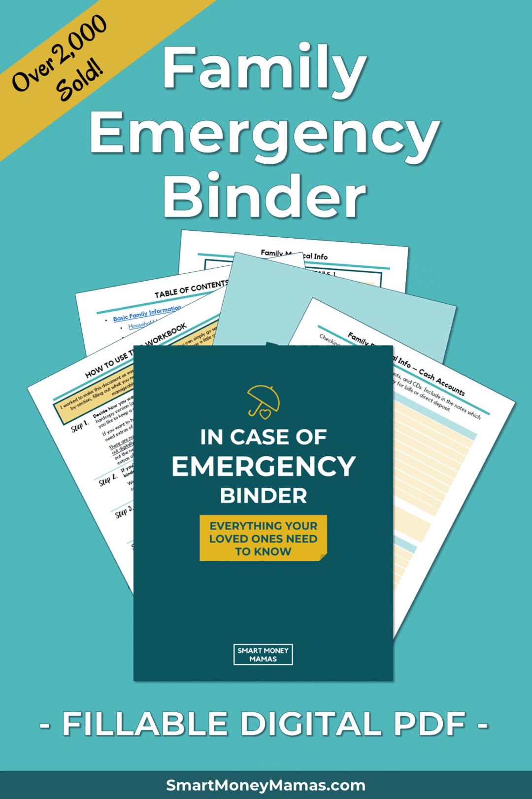 Family Emergency Binder