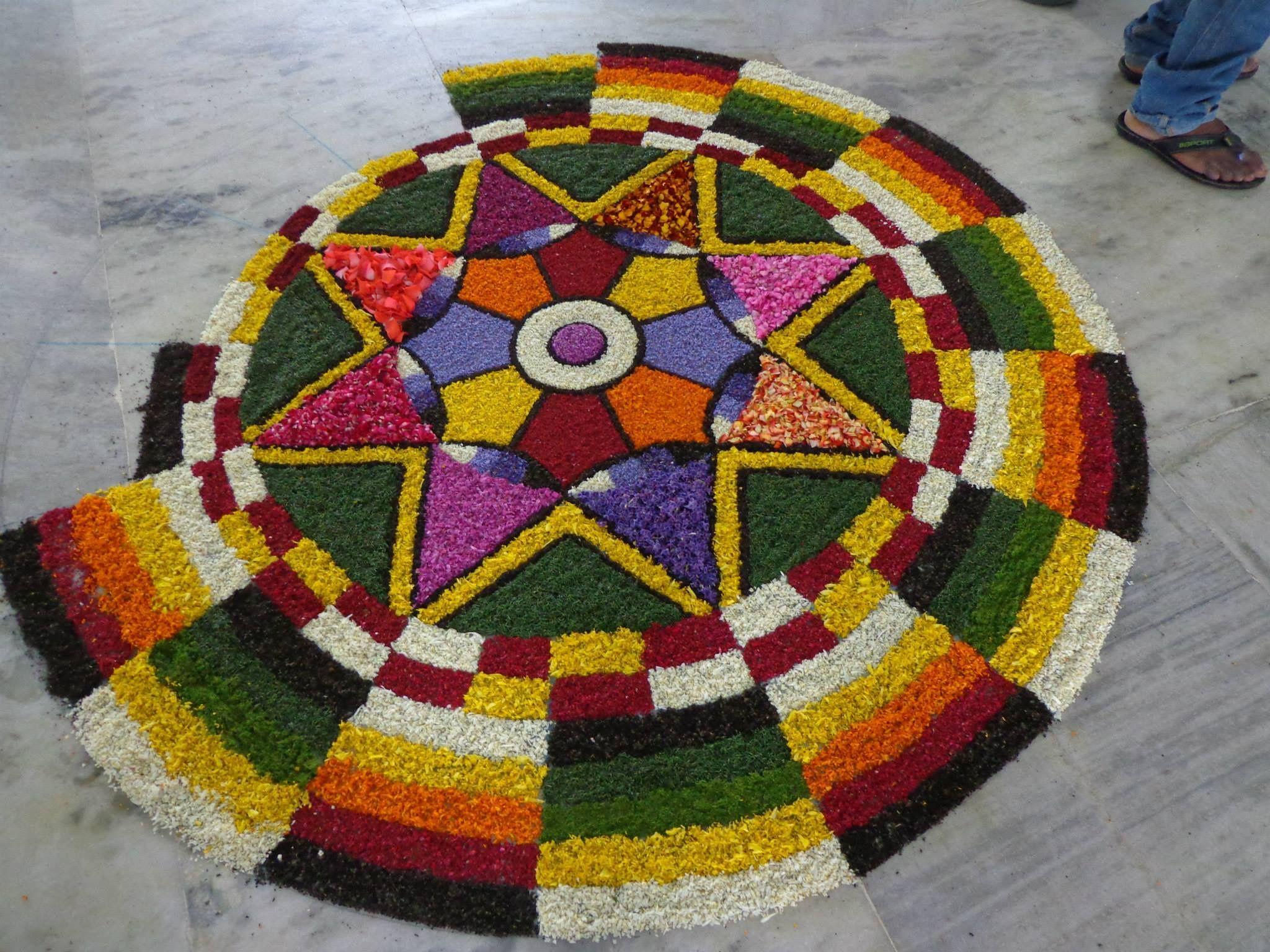 Pin by SONU V SAGAR on pookkalam Rangoli designs images