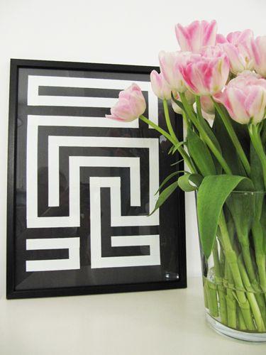 cadre labyrinthe