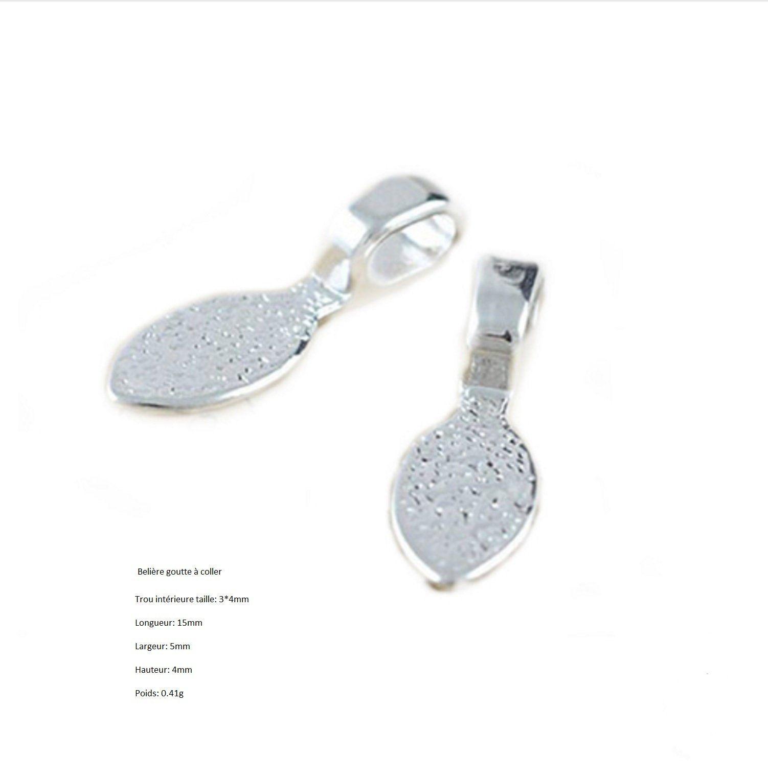fournitures en argent pour bijoux
