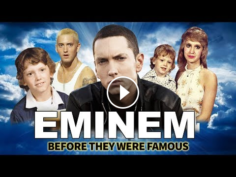 Eminem | Before They Were Famous | Epic Biography from 0 to