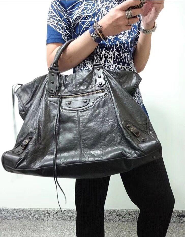 5017aa1bd772 Balenciaga giant city bag extra large size 50cm