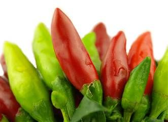 Cold temperatures and chili peppers help burn fat