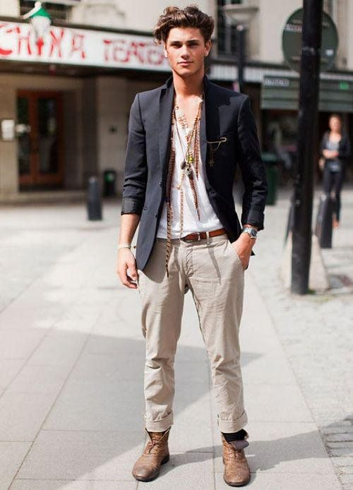 Casual European Mens Fashion Style To Copy
