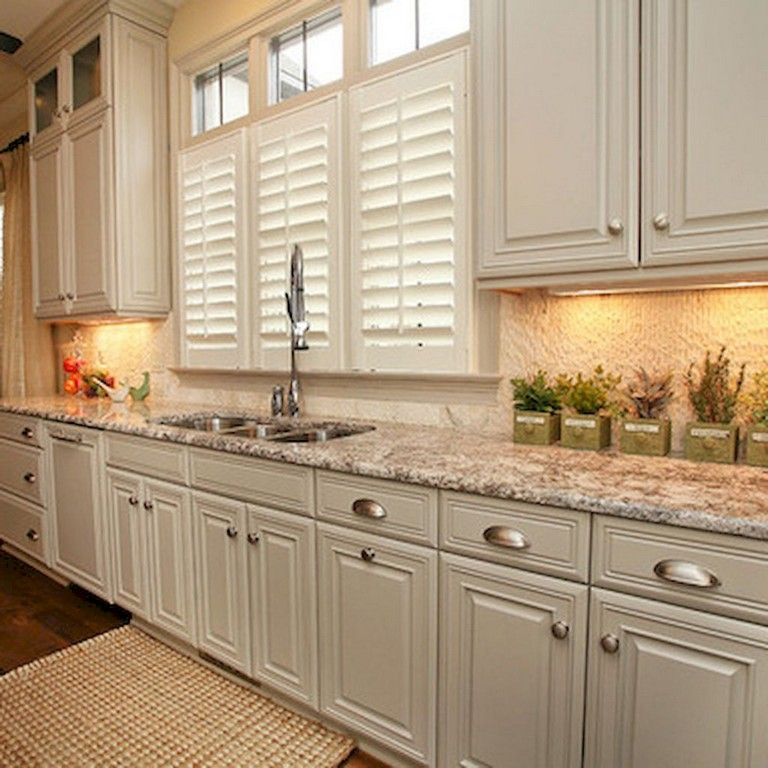 Kitchen Cabinet Makeovers On A Budget: 70 Beautiful Farmhouse Kitchen Cabinet Makeover Ideas