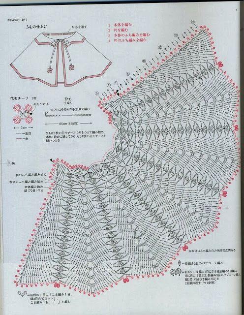 RECEITA DE CROCHÊ INFANTIL | moldes laudiceia | Pinterest | Crochet ...