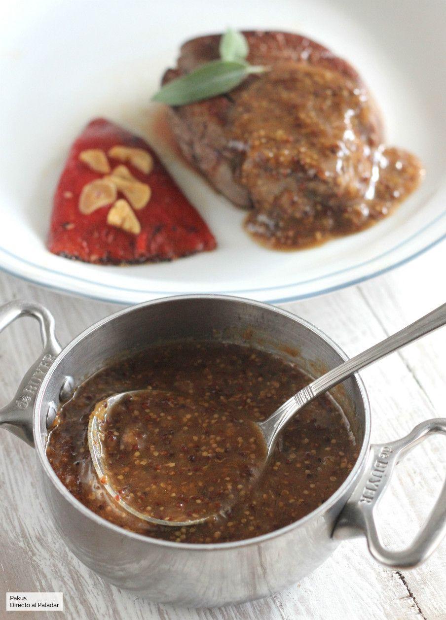 Receta salsa mostaza ensalada