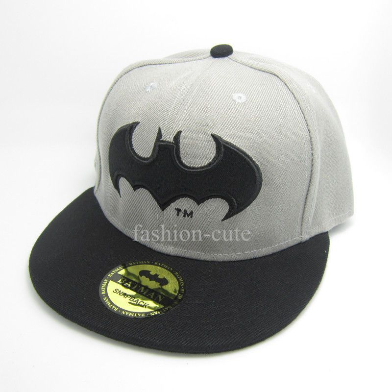 ce6a9a4e1f438  15.99 AUD - Dc Black Grey Classic Adjustable Snapback Batman Flat Baseball  Hat Cap Gift