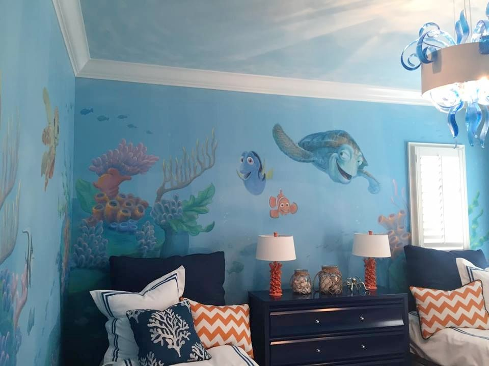 Finding Nemo Ocean Themed Bedroom Dory