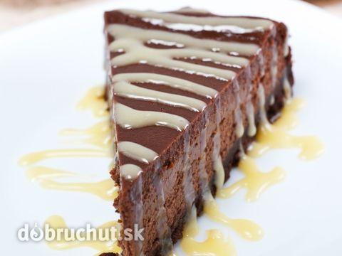 Cheesecake plný čokolády