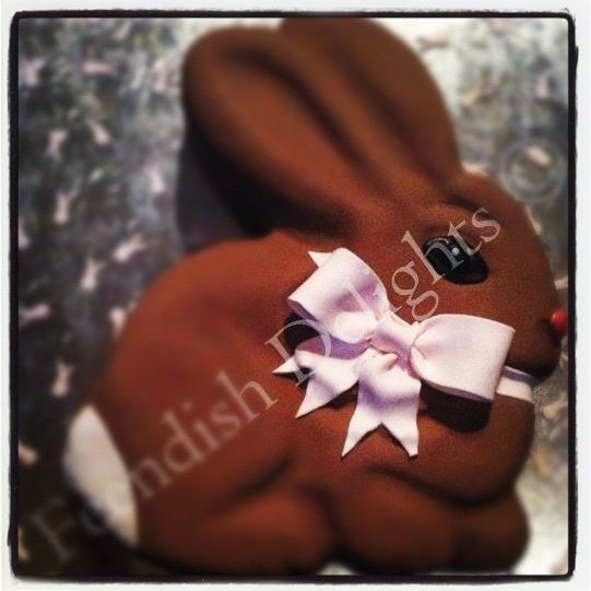 naming ceremony cake for Evie.  Find me on Facebook - Feendish Delights