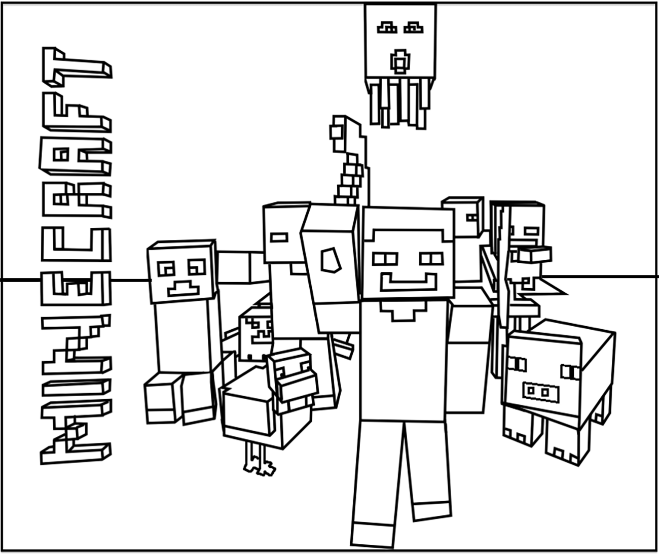 Grab Your New Coloring Pages Minecraft Download Https Www Gethighit Com New Coloring Minecraft Coloring Pages Minecraft Printables Printable Coloring Pages