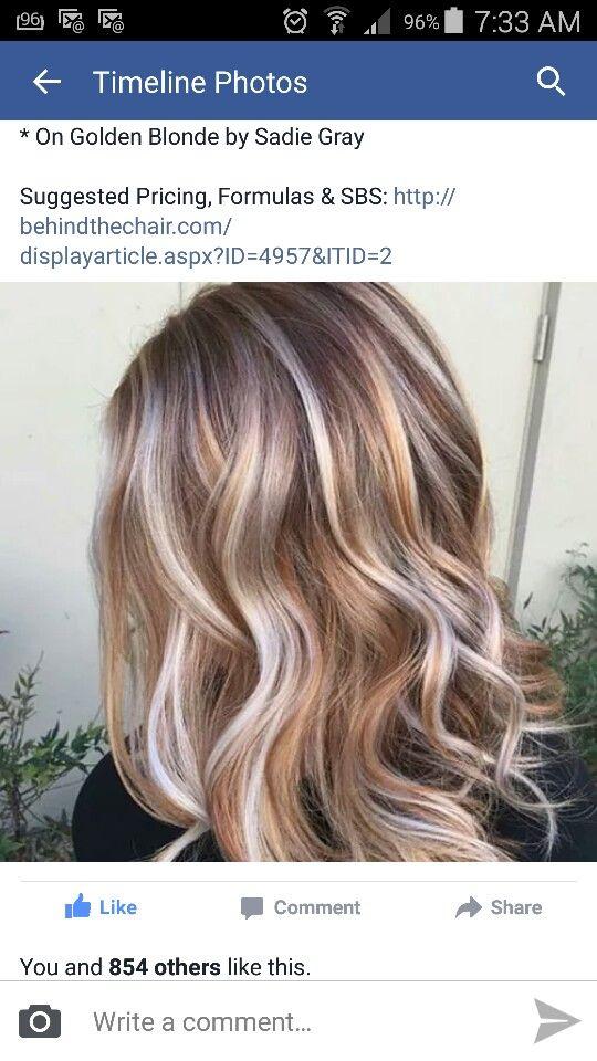 Trio Blondes Hair Color Hair Styles Long Hair Styles