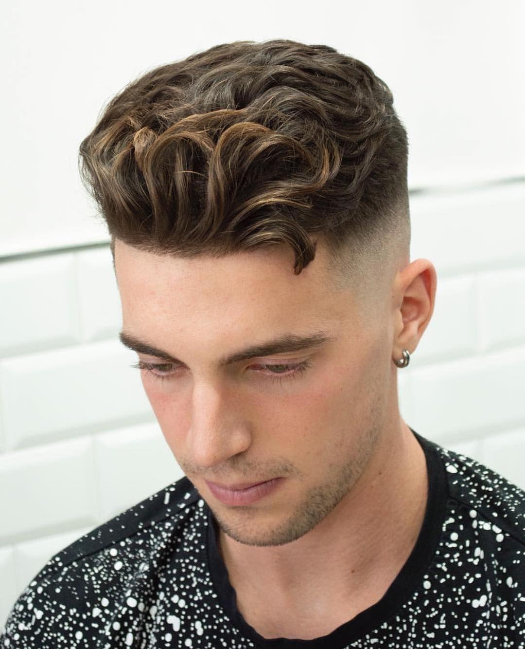 Men S Hair Haircuts Fade Haircuts Short Medium Long Buzzed Side Part Long Top Short Sides Hair Style Wavy Hair Men Undercut Hairstyles Curly Undercut