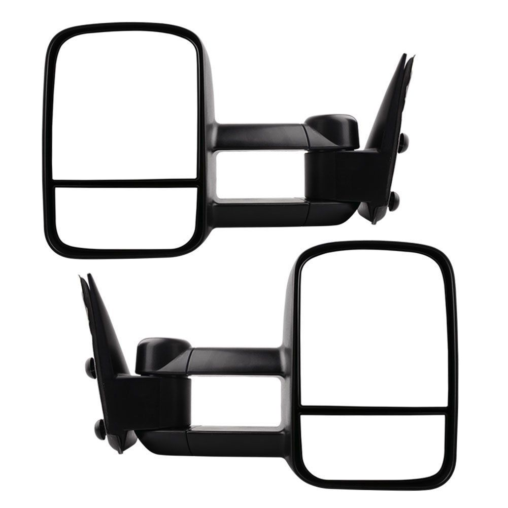 Chevy Tow Mirrors For 1999 2006 Chevy Silverado Gmc Sierra Truck Towing Mirrors Manual Telescoping Side Mirrors Pair Towing Mirrors Chevy Silverado Gmc Sierra