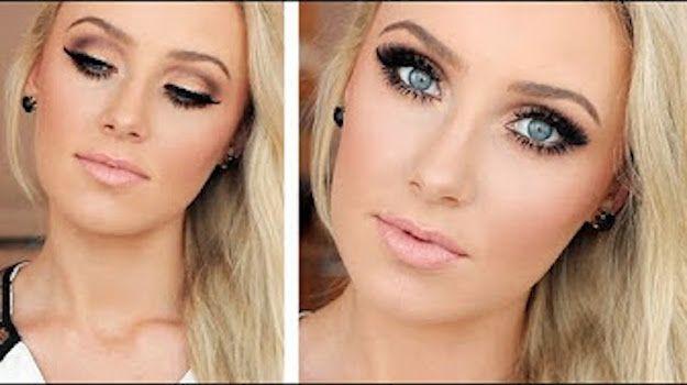 50 Perfect Makeup Tutorials For Green Eyes Blue Eye Makeup Fair
