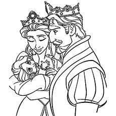 20 Beautiful Rapunzel Coloring Pages For Your Little Girl