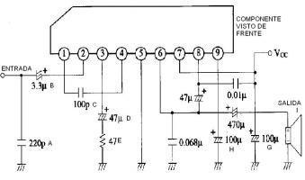 amplificador de audio economico
