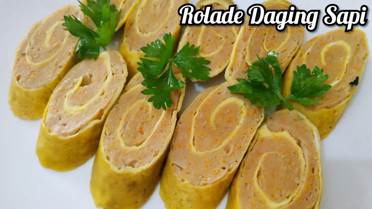 Resep Rolade Daging Sapi Frozen Food Youtube Frozen Food Food Malaysian Food