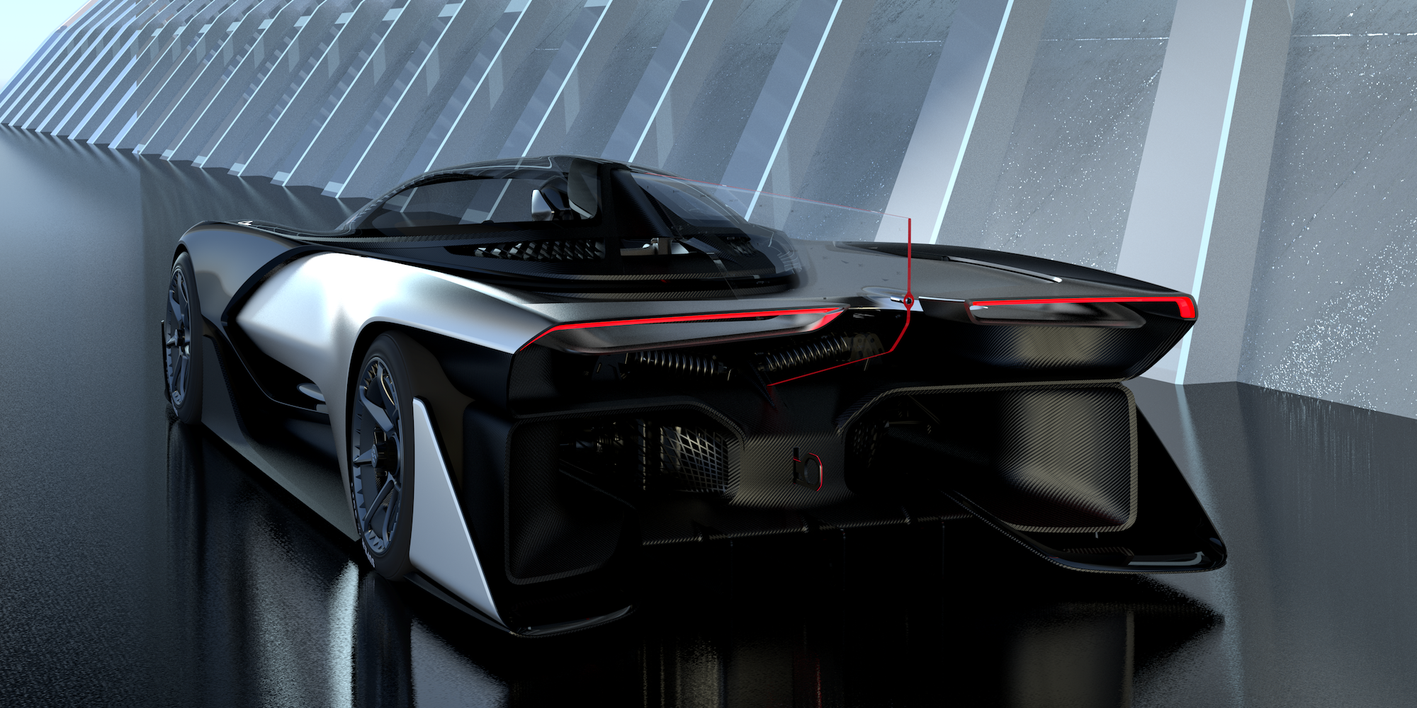Tesla Rival Faraday Future Just Revealed Its Vision Of The Future Of Cars Faraday Future Concept Cars Supercars Concept
