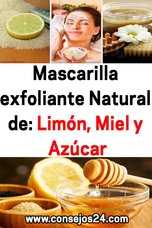 Mascarilla Exfoliante Natural De Limón Miel Y Azúcar Remedios Belleza Mascarilla Exfoliante Snack Recipes Snacks Chip Bag