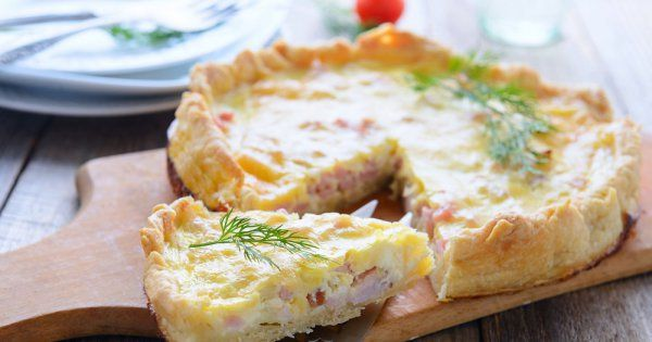 La vraie quiche lorraine (sans fromage)