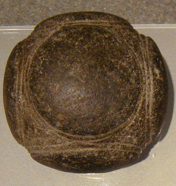 File:Human Prehistory in the Kelvingrove carved stone ball Aberdeenshire.JPG