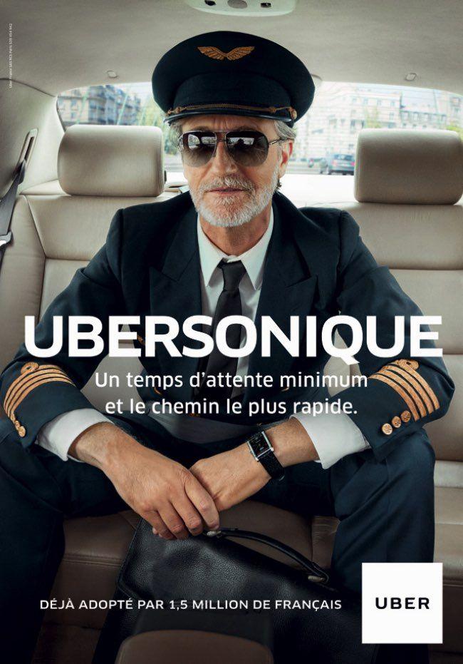 campagne pub uber france print vtc 8 affiches pub pinterest pub affiche pub et annonce. Black Bedroom Furniture Sets. Home Design Ideas