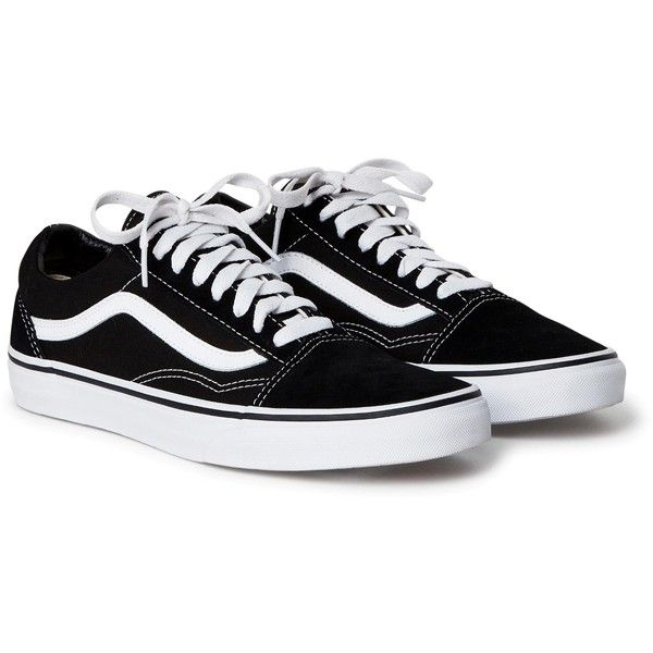 Old skool sneakers ❤ liked on Polyvore featuring shoes and