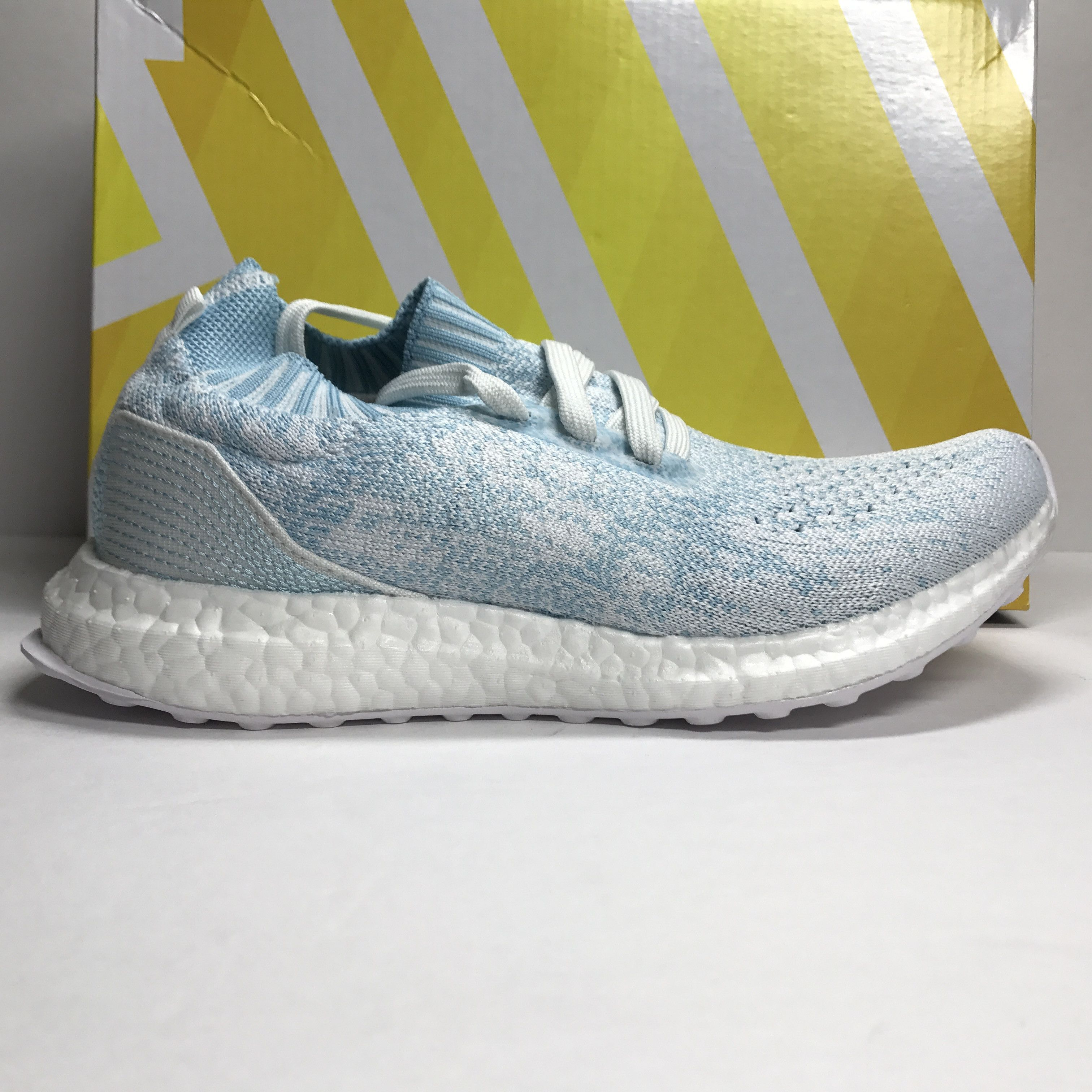 cc77e38af9f77 ... clearance ds adidas ultra boost uncaged parley ice blue size 5 size 6  6044f 059bf