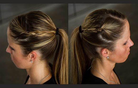 Hairstyles For Runners Running Hairstyles Fast Braids Country Hairstyles
