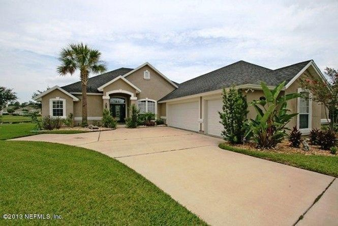 Contemporary Florida Styling In This 4 3 2 600 Feet Home In