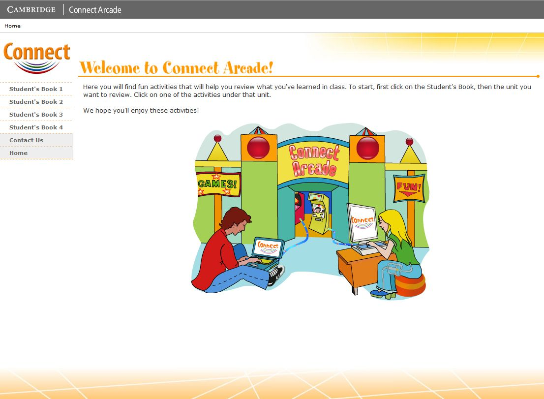 Connect Arcade: welcome by Cambridge University Press