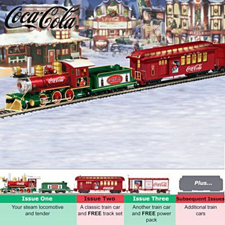 Coca-Cola Holiday Express HO Scale Train Collection