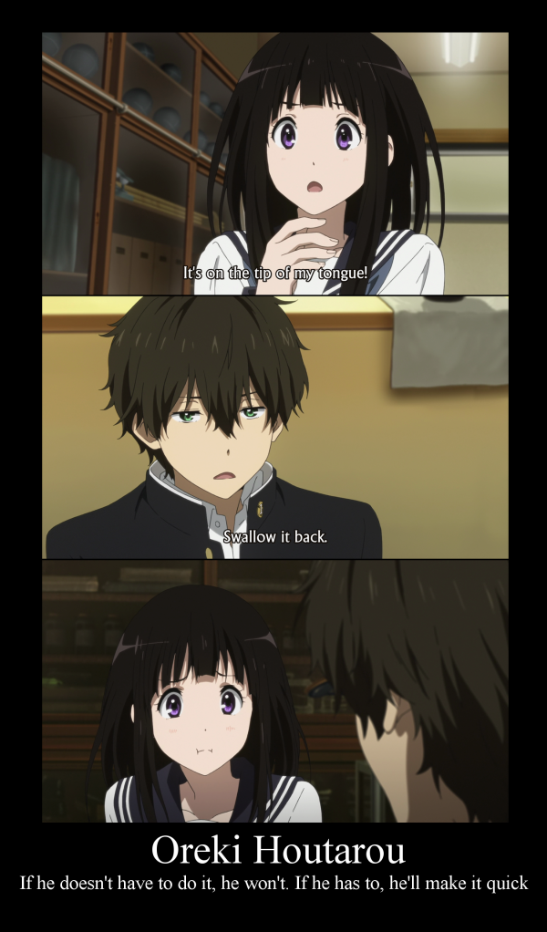 hyouka meme Otaku Meme » Anime and Cosplay Memes