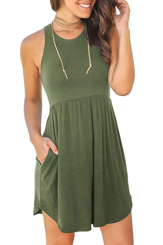 Summer Casual T Shirt Plain Dress Casual Short Dresses Casual Summer Dress Outfits Casual [ 1500 x 997 Pixel ]