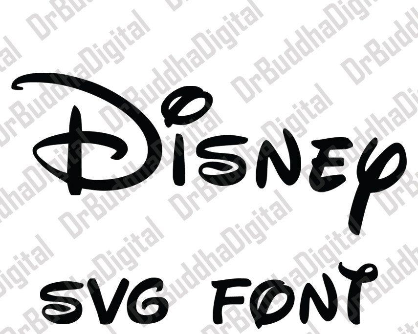 disney font svg collection - disney alphabet dxf - disney clipart