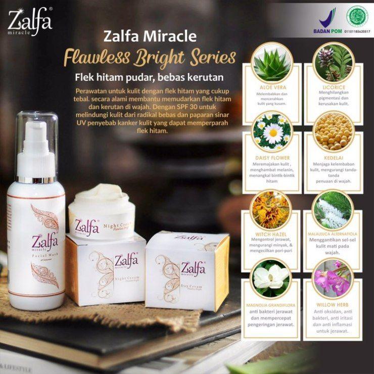 Zalfa Miracle Natural Skincare Halal Aman Aloe Vera Kulit Licorice