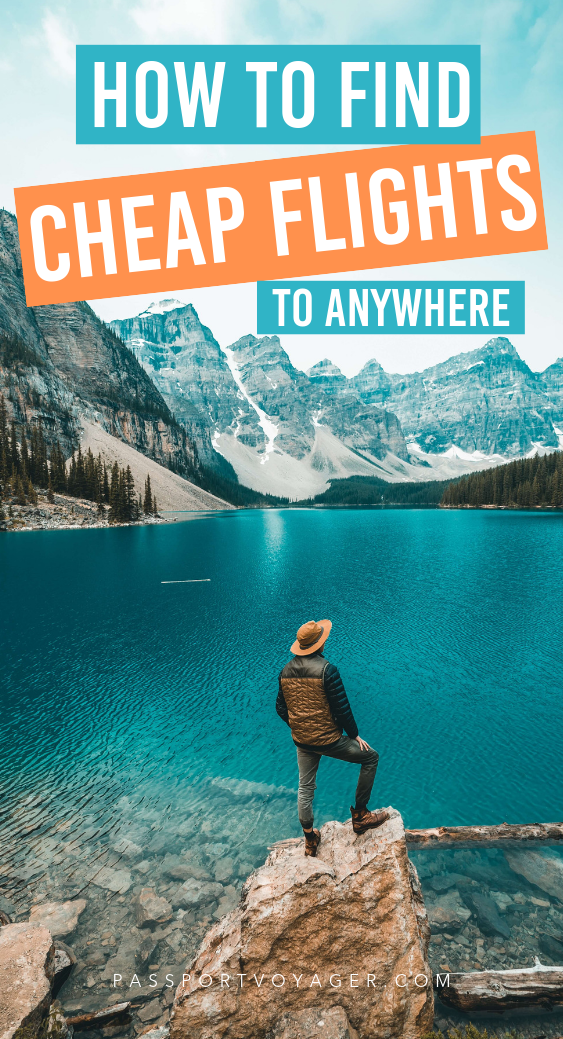 On a budget but still want to travel? We've got you covered! Our guide to 21 of some of the most reliable & creative hacks for finding cheap flights (by travel experts!) will help you plan your trip and book your flights while saving money. #travel #travelhacks #cheapflights #budgettravel
