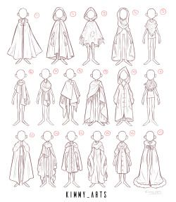 Photo of Kimmys art — These are various character exploration pieces…