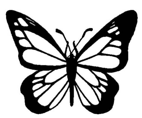 Free Butterfly Coloring Page Coloring Page Book For Kids Butterfly Outline Butterfly Coloring Page Butterfly Stencil