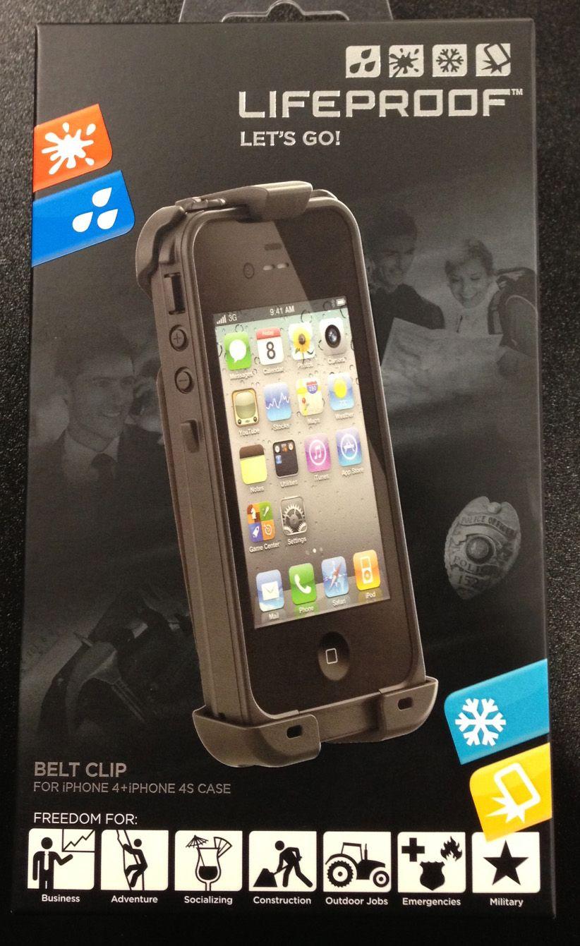 iPhone 4/4S Black Lifeproof Case  $79.99