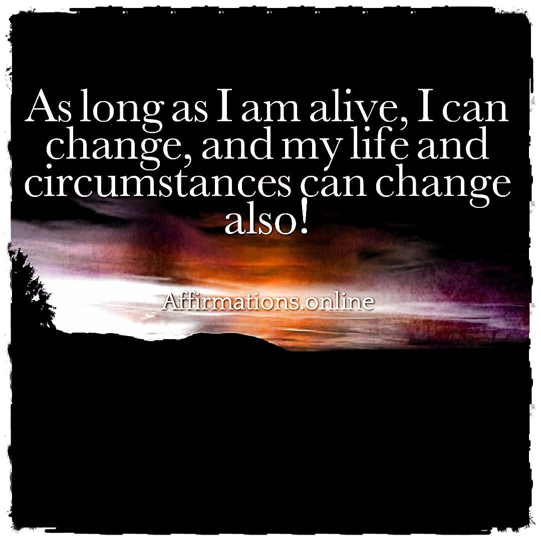 Positive Affirmations for hope in challenging times