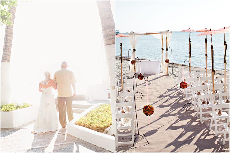 Beach Wedding Ceremony Oahu: Beautiful La Paz Wedding Ceremony!