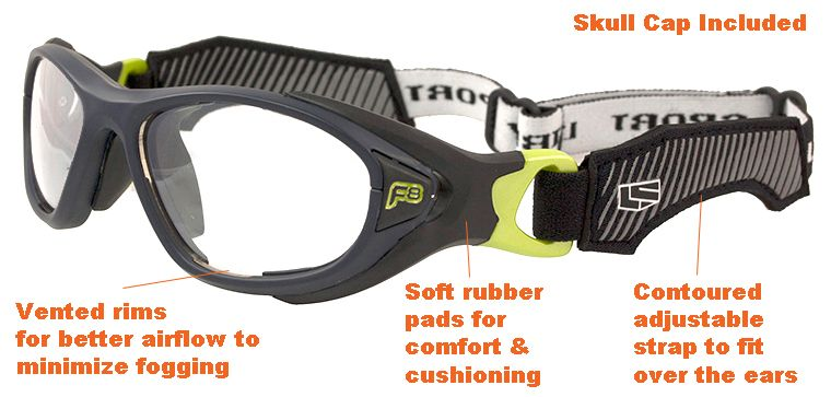 1a6c1ad183 5+ yrs to Adults  Rec Specs F8 Helmet Spex  Matte Navy - 49   53 ...