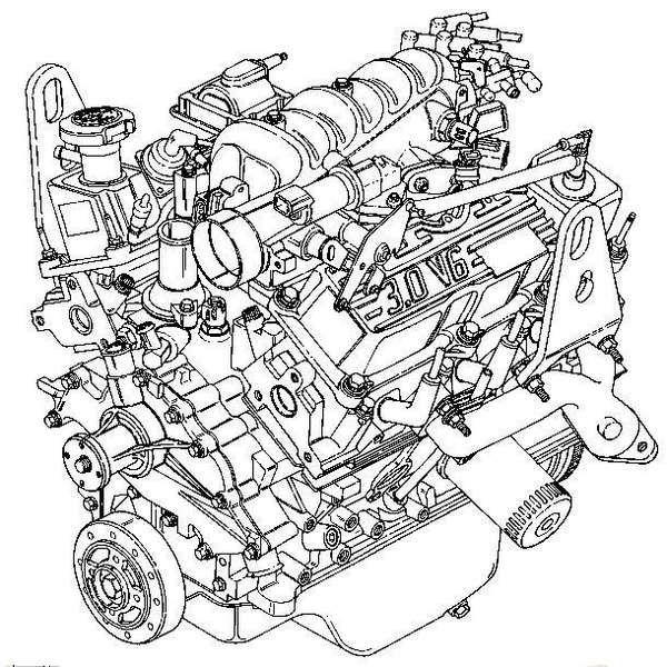 Belt Arrangement For 94 Ford Aerostar Serpentine 30 Google Search: Ford Aerostar Engine Diagram At Shintaries.co