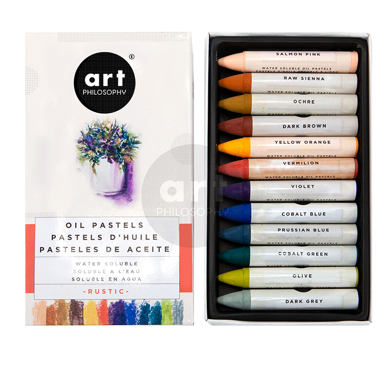 Presenting New Watercolor Confections Oil Pastels Art Philosophy