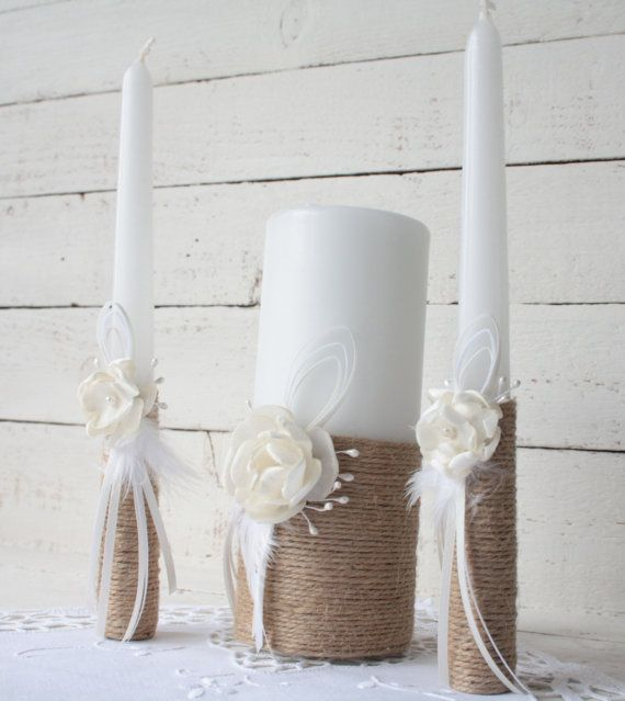 Hey, I found this really awesome Etsy listing at https://www.etsy.com/uk/listing/259309475/rustic-wedding-unity-candle-set