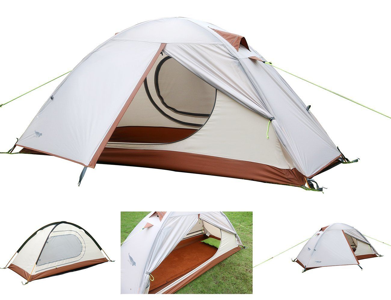 Lightweight One Person Tent Luxe Tempo Single 1 Person Tent For Camping 3 3lb Campinggear Camping Backpacking Tent Tent Best Tents For Camping