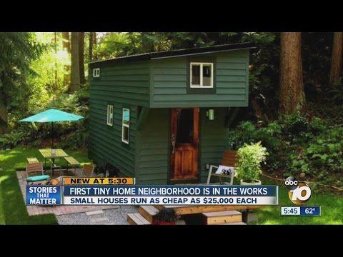 Home Habitat Tiny Homes Tiny House Community Cheap